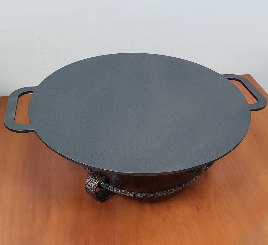 Сковорода садж чугунная 42 см